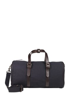 Pier One ISMAIL Torba weekendowa navy/dark brown