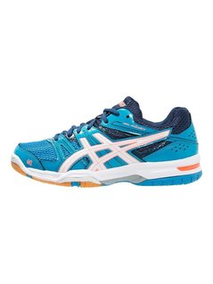 ASICS GELROCKET 7 Obuwie do siatkówki blue jewel/white/flash coral
