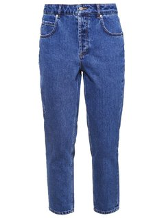 Selected Femme SFFRIDA MOM  Jeansy Relaxed fit medium blue denim