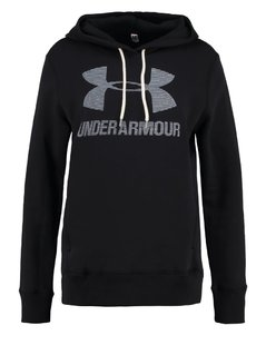 Under Armour FAVORITE Bluza black/white/white
