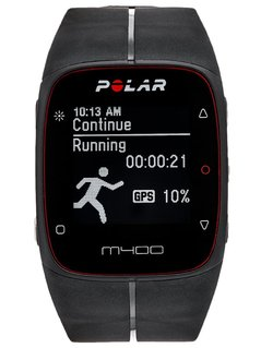 Polar M400 HR Pulsometr black