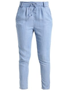 ONLY ONLPOPTRASH Jeansy Relaxed fit light blue denim