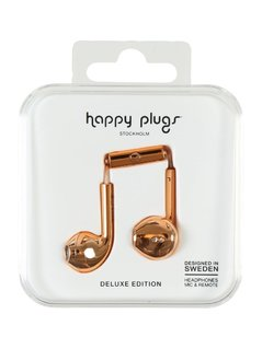 Happy Plugs PLUS DELUXE Słuchawki rose gold